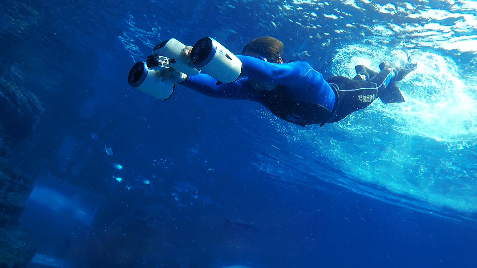 Подводные скутеры видео — pic 1