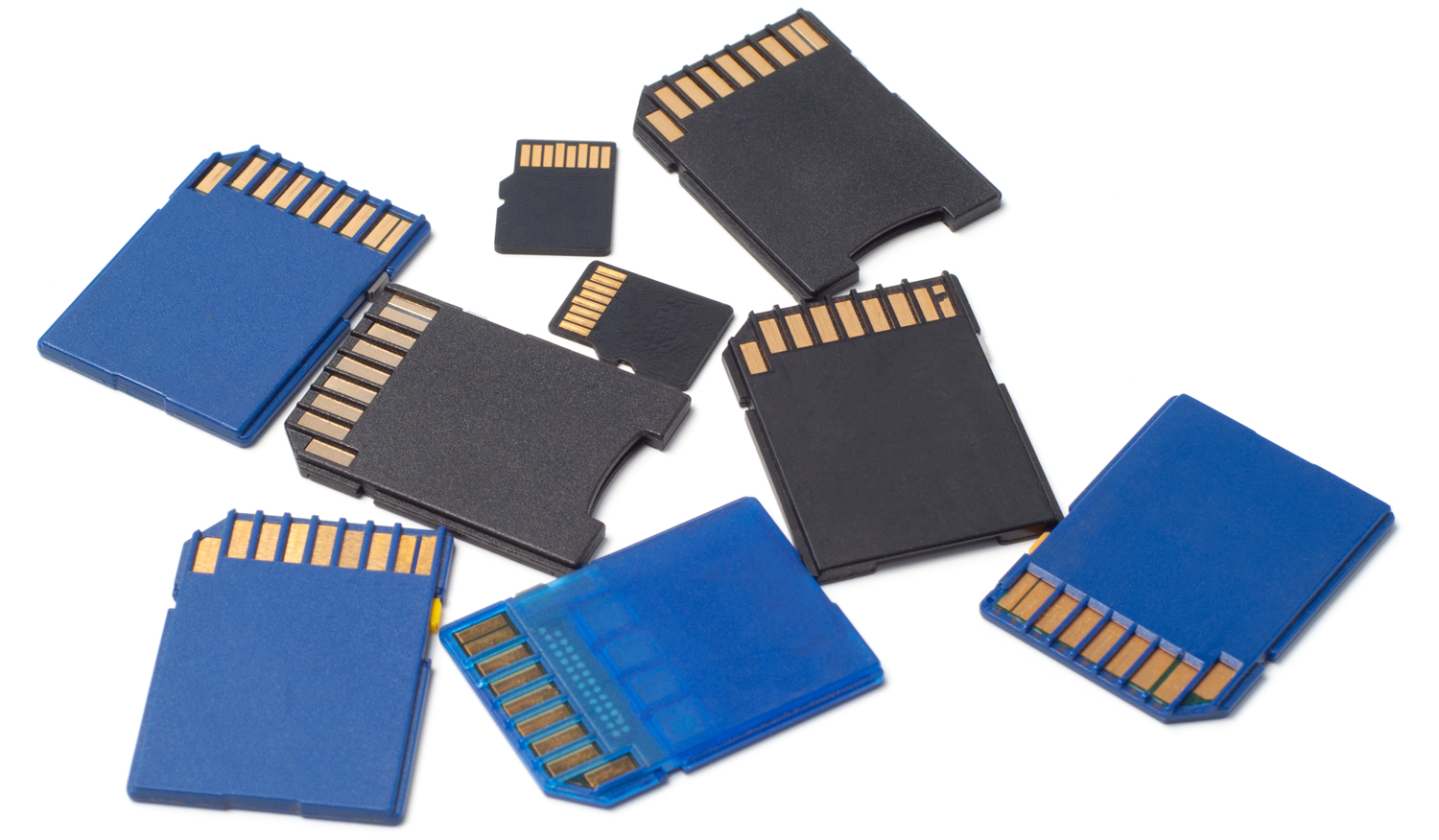 different PS4 memory cards