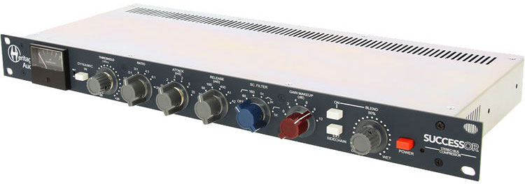Heritage Audio Successor Stereo Bus Compressor for Pro Audio Applications