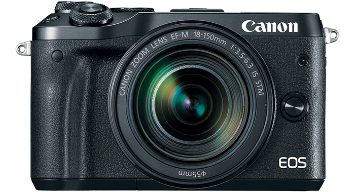 Canon Releases a Trio of New Cameras: M6 Mirrorless, T7i, and 77D