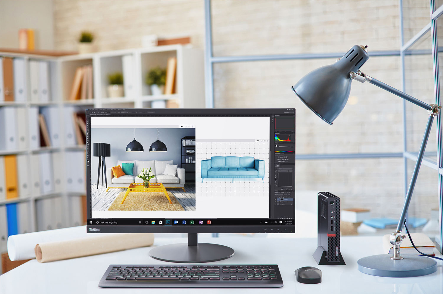 home office technology. Lenovo ThinkStation P320 Series Tiny Workstation Home Office Technology