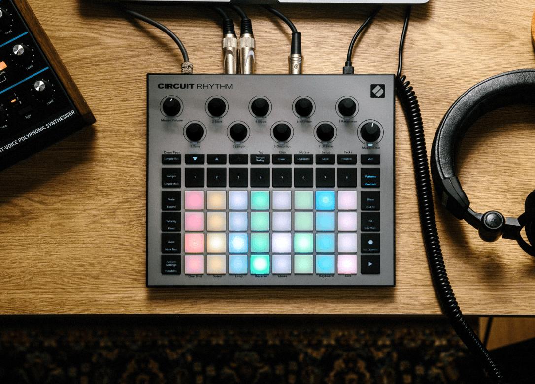 Novation Circuit Rhythm Standalone Groove Sampler
