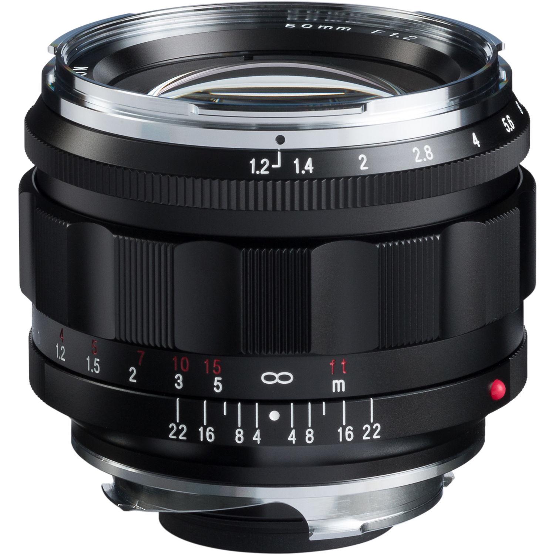 Voigtländer Nokton 50mm f/1.2 Aspherical Lens