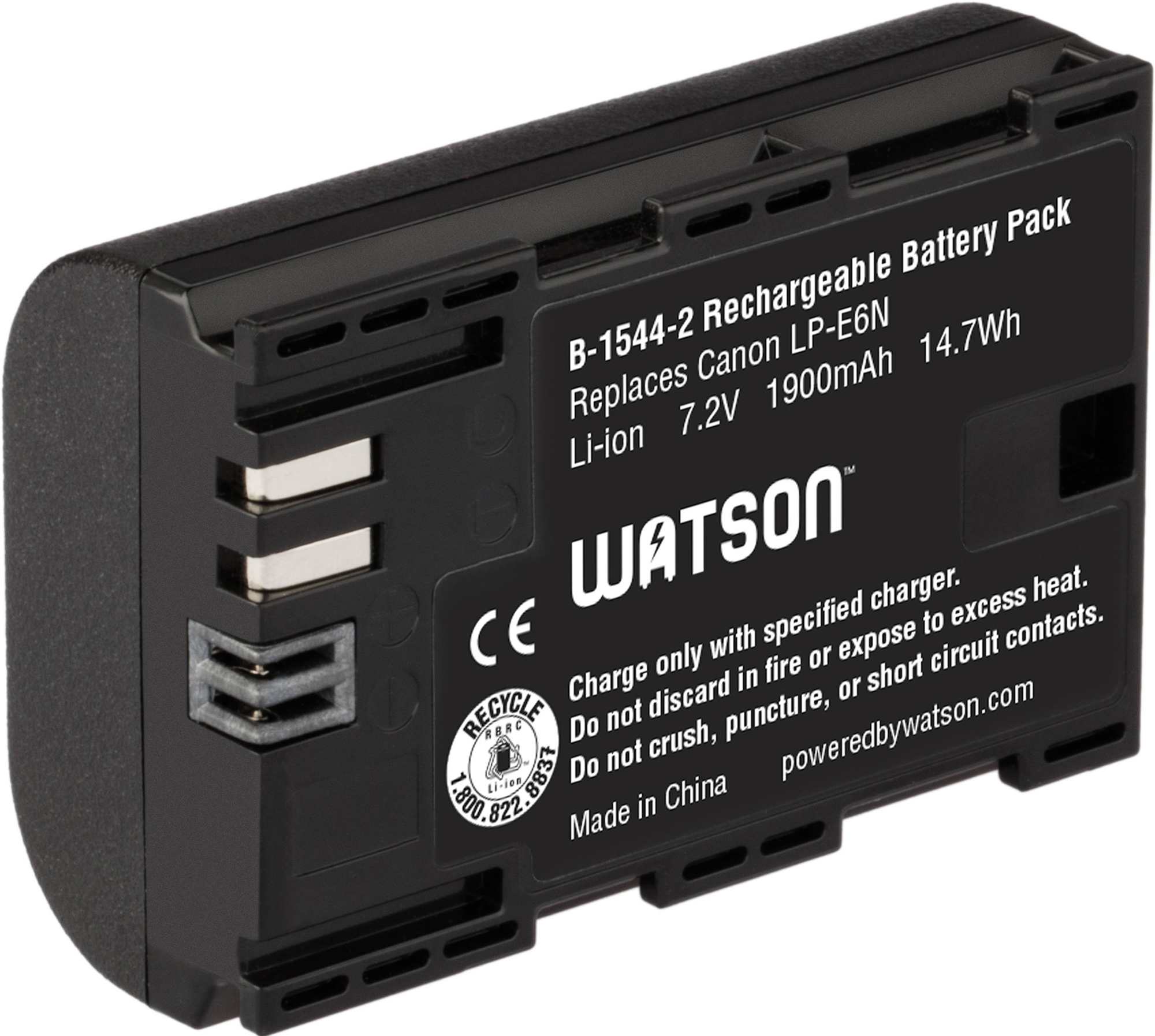 Watson LP-E6N Lithium-Ion Battery Pack