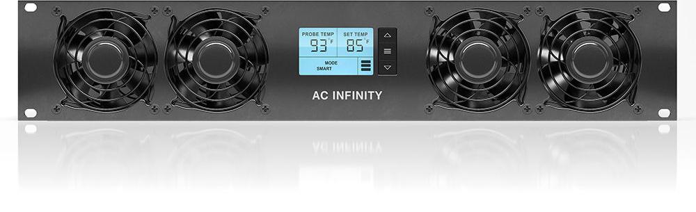 Ac Infinity Cloudplate T7 Rackmount Cooling Fan System