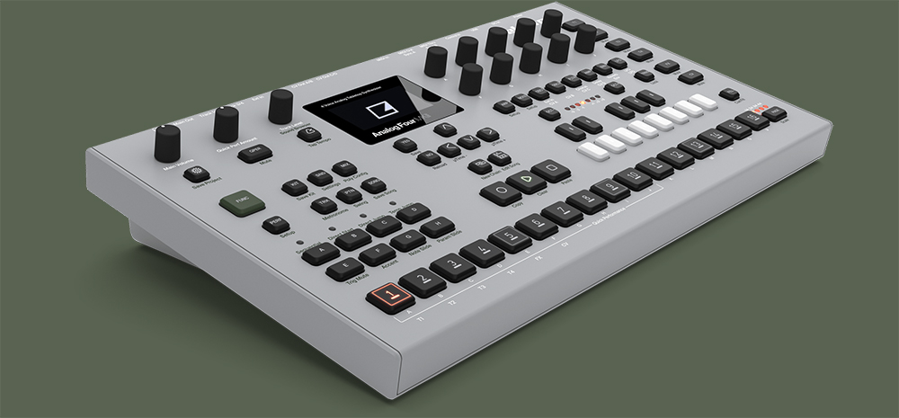 new products from elektron for rhythm and synth wizards b h explora. Black Bedroom Furniture Sets. Home Design Ideas