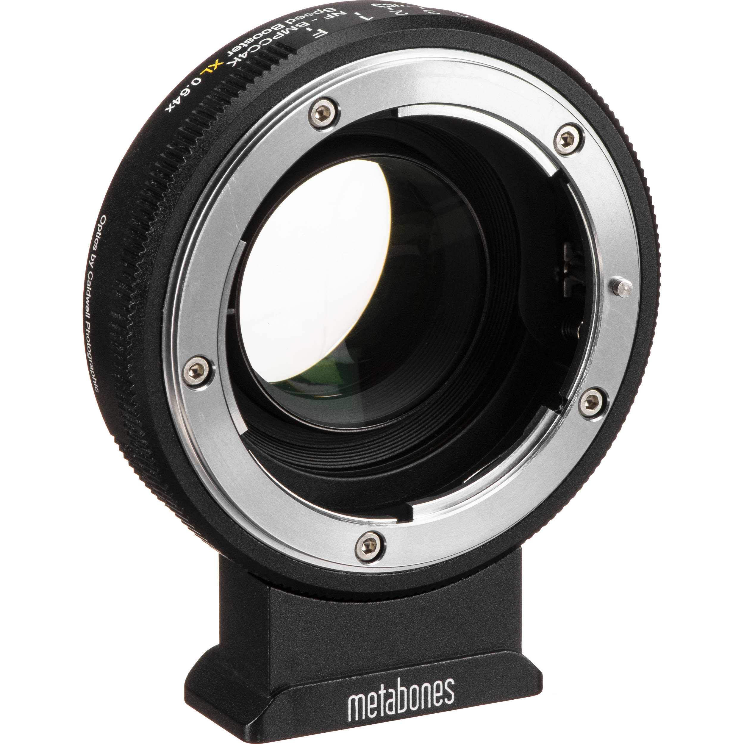 Metabones Speed Booster XL 0.64x Adapter for Nikon F Lens to BMPCC 4K Camera