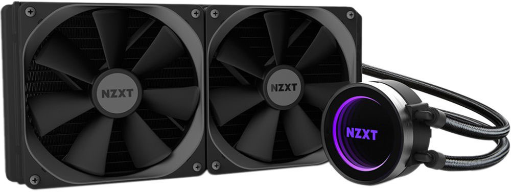 NZXT Kraken X62 All-in-One Liquid CPU Cooler with AM4 Bracket