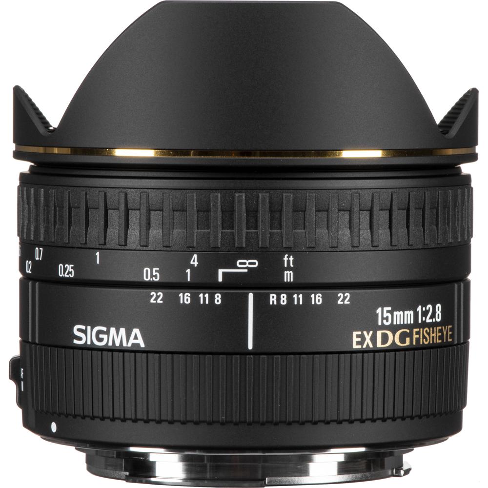 Sigma 15mm f/2.8 EX DG Diagonal Fisheye Lens