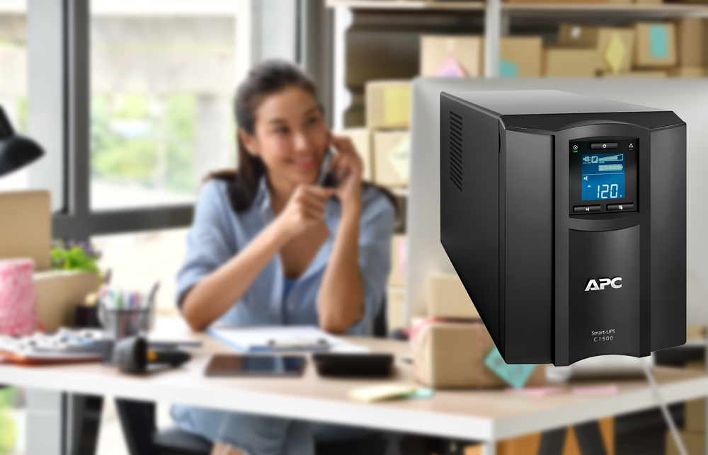 APC Smart-UPS C Battery Backup & Surge Protector with SmartConnect