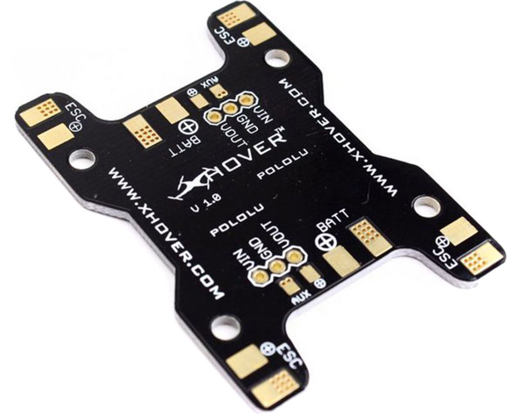 Building Your First Fpv Drone Racer Bh Explora Basic Electric Guitar Circuits Workbenchfuncom Flysight Simple Power Distribution Board