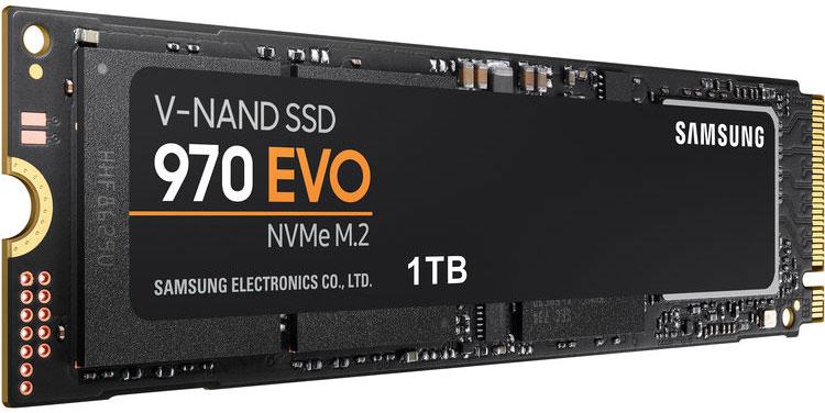 Samsung 1TB 970 EVO NVMe M.2 Internal SSD
