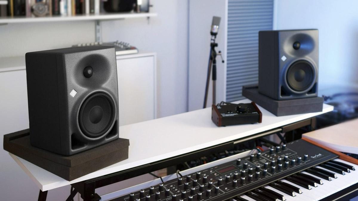 """Neumann KH 80 DSP 4"""" + 1"""" Active 2-Way Studio Monitor"""