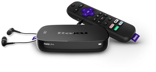 Roku Ultra HDR 4K UHD Streaming Media Player