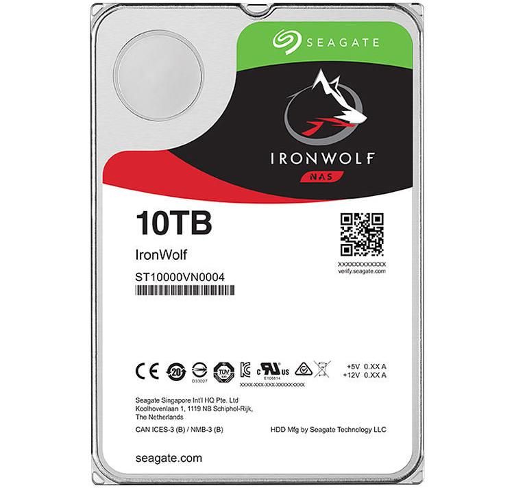 "Seagate IronWolf 7200 rpm SATA III 3.5"" Internal NAS HDD"