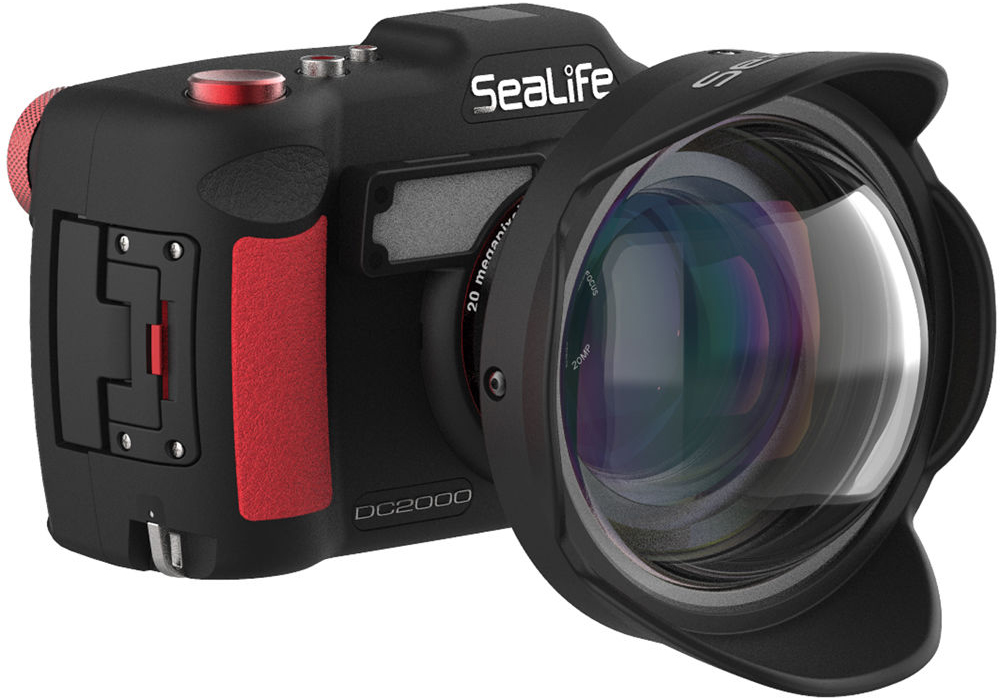 SeaLife 0.5x Wide-Angle Dome Lens with 52mm Adapter for DC-Series Cameras