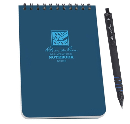 Rite in The Rain All-Weather Pen and Notebooks