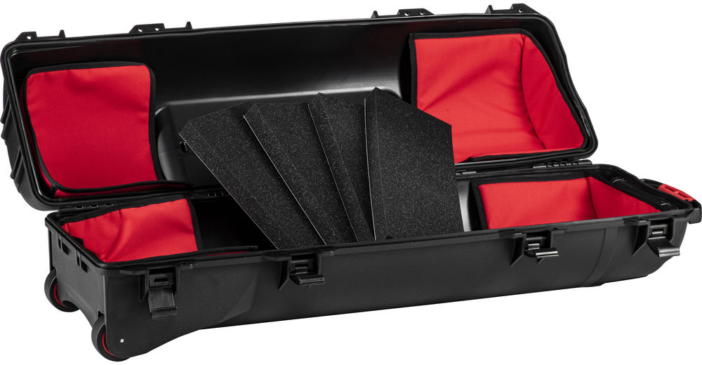 HPRC 6300TRIB Wheeled Hard Case for Tripods with Tri Kit (Black)