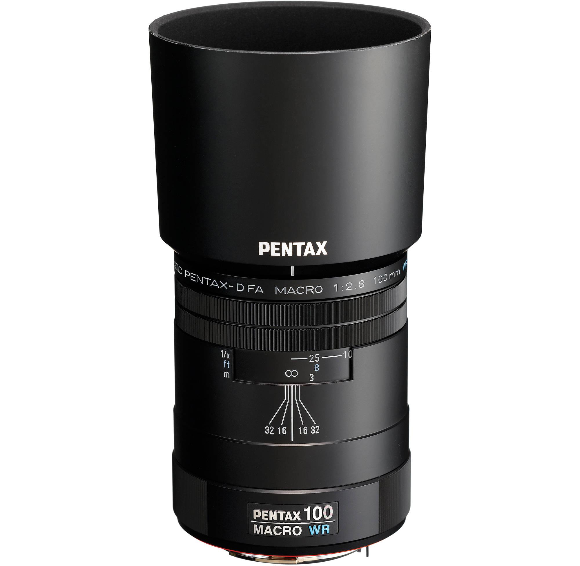 Pentax smc Pentax-D FA 100mm f/2.8 WR Macro Lens