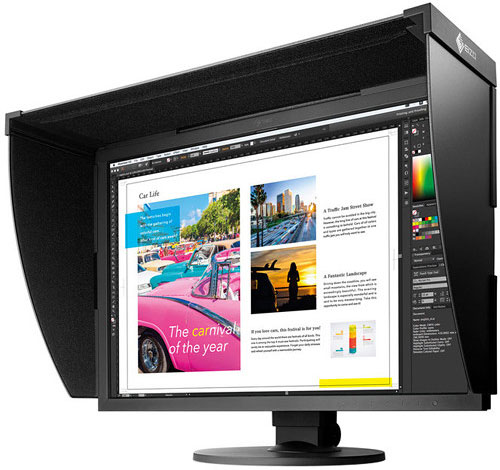 Eizo's ColorEdge CG319X self-calibrates so you don't have to worry about buying extra calibration tools.