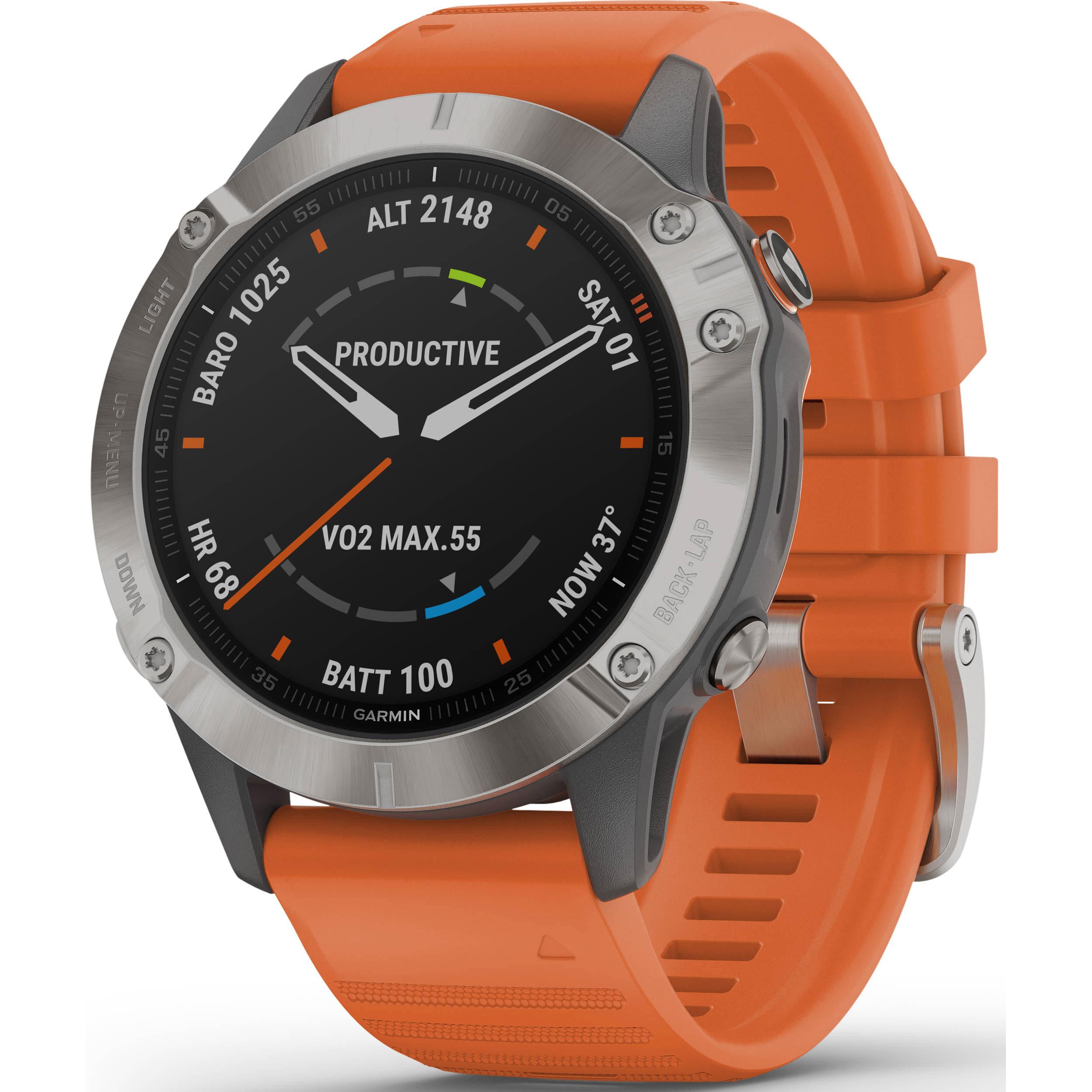 Garmin fenix 6 Multisport GPS Smartwatch