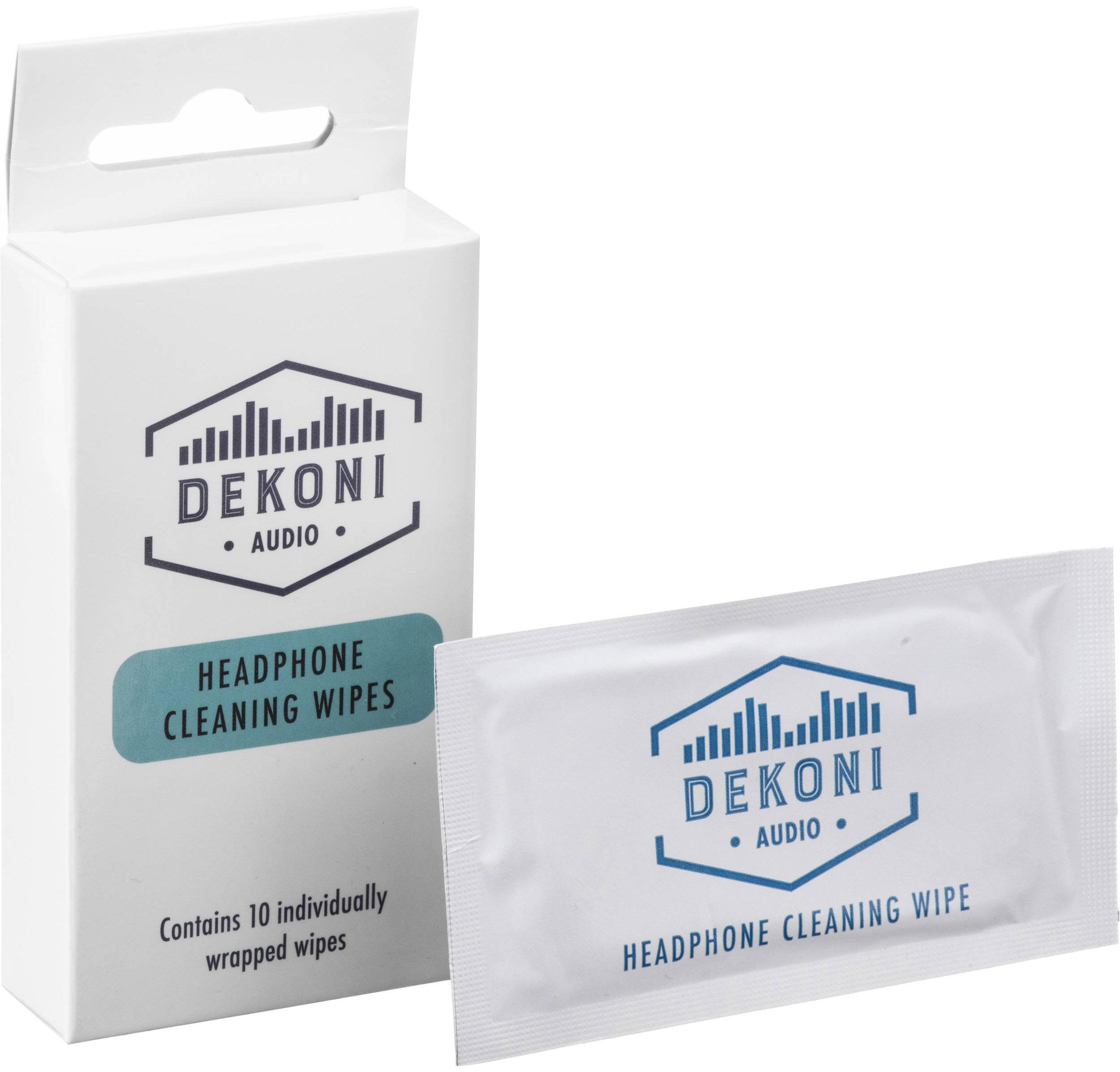 Dekoni Audio Headphone Cleaning Wipes