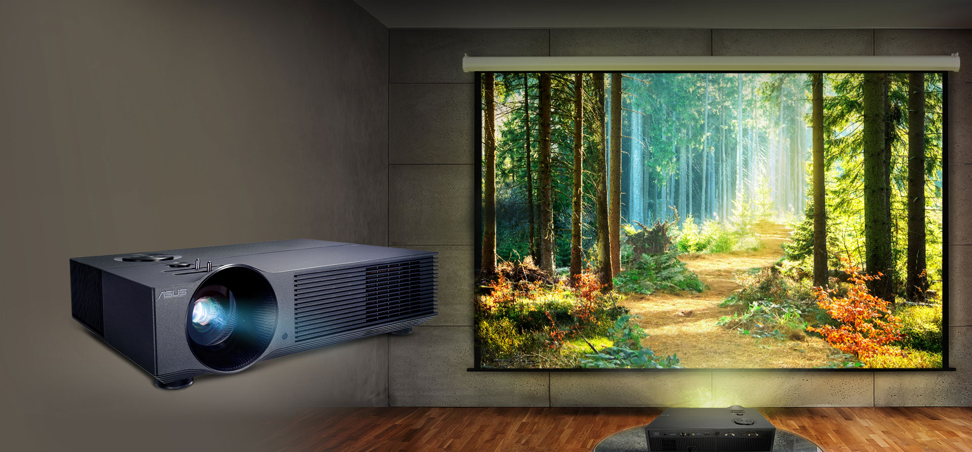 ASUS H1 3000-Lumen Full HD Home Theater & Conference Room DLP Projector