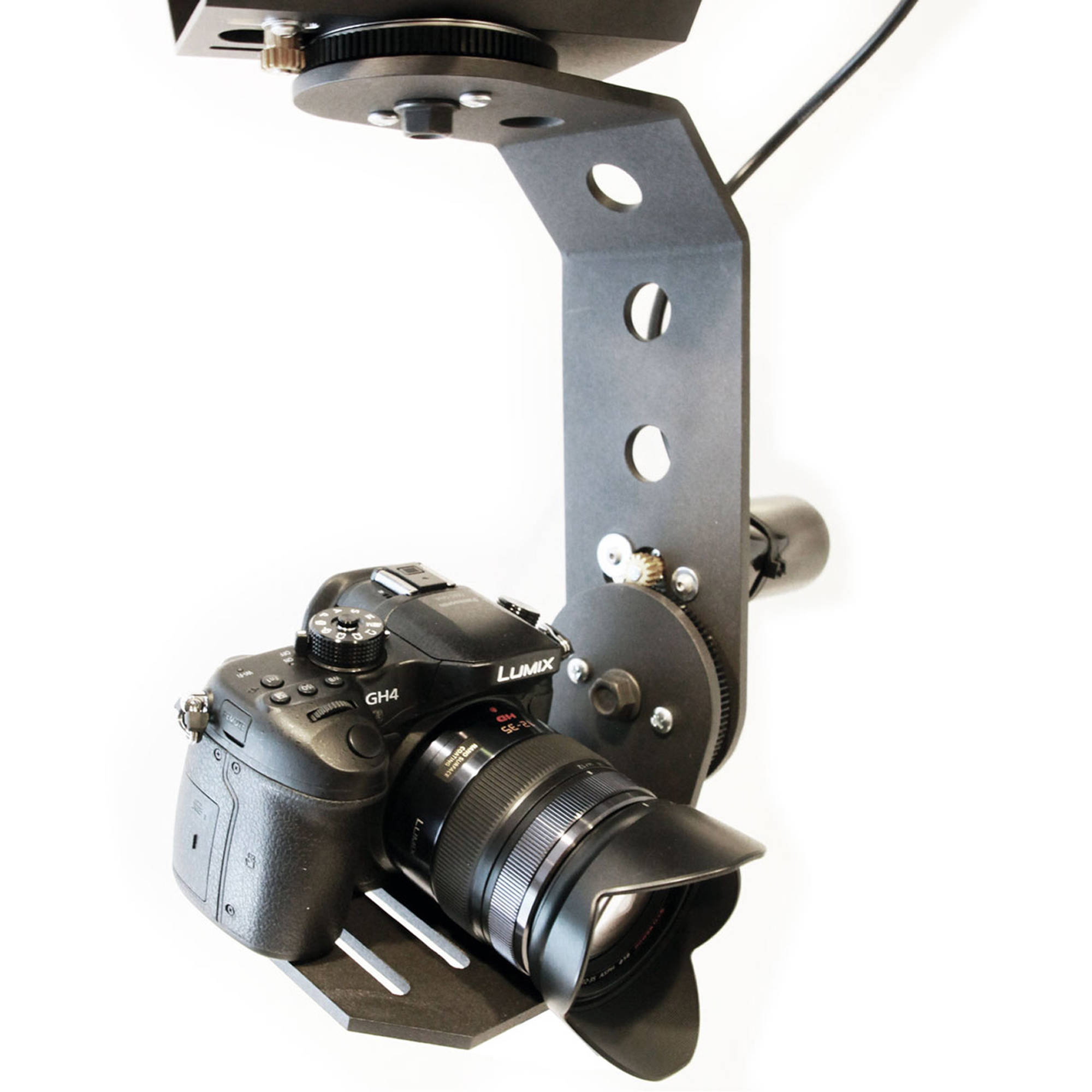 How to integrate ptz cameras into your live setup b h for Pan and tilt head motorized