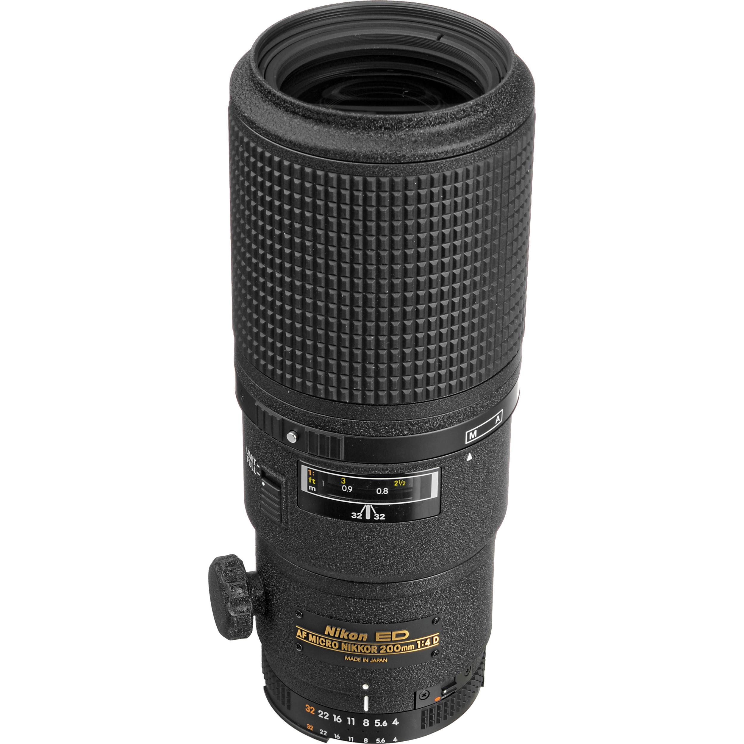 Nikon AF Micro-NIKKOR 200mm f/4D IF-ED Lens