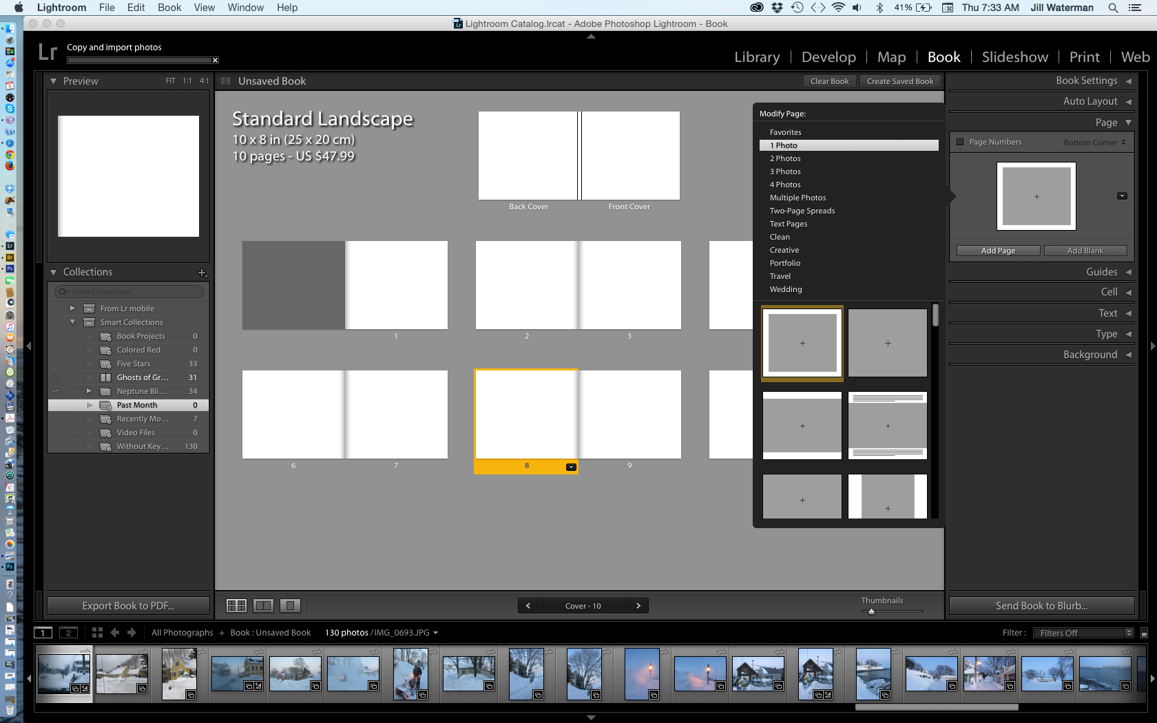 How to make a photo book with the adobe lightroom book for Website that allows you to design a room