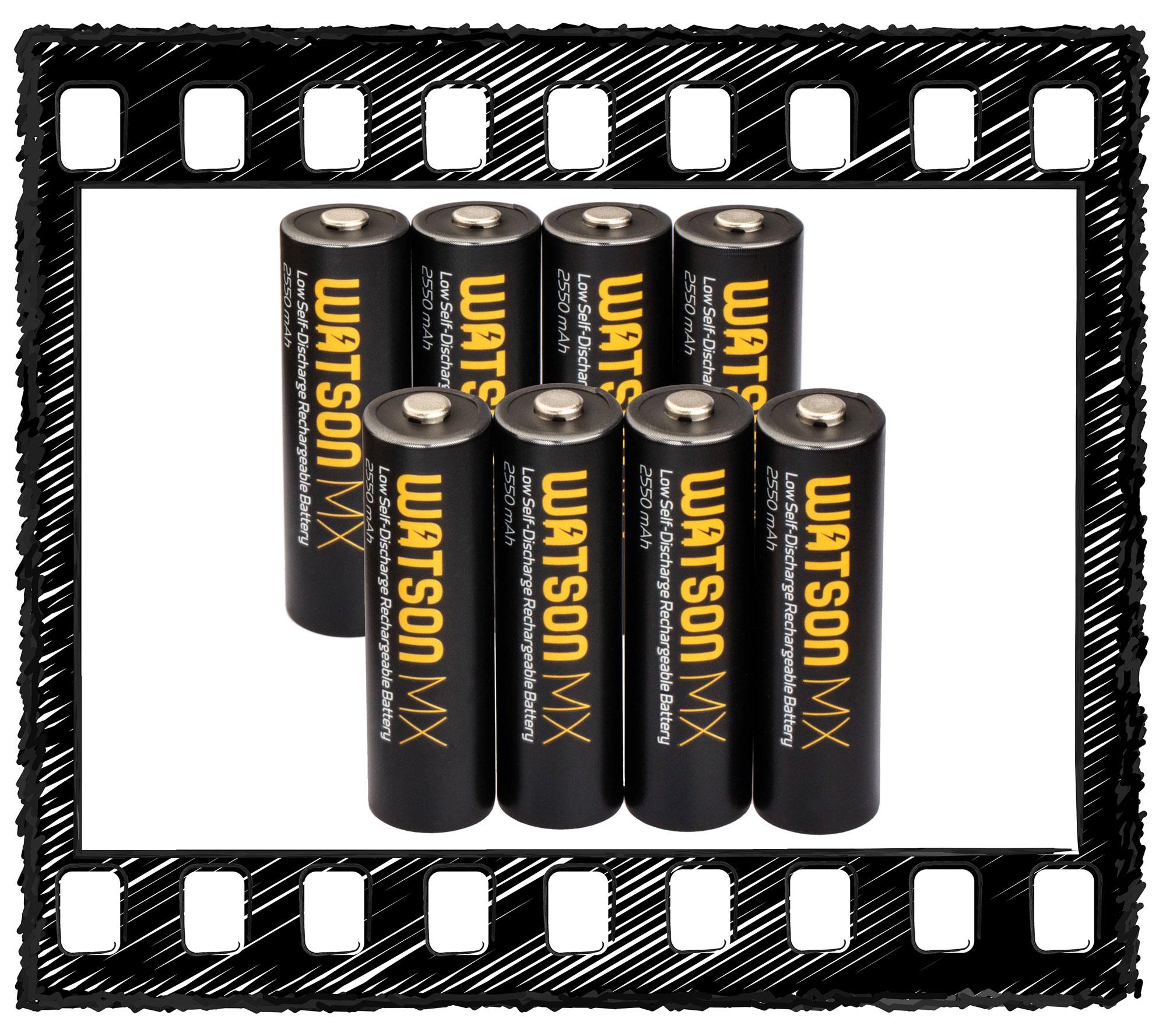 Watson MX AA NiMH Batteries