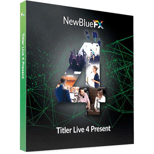 NewBlueFX Titler Live 4 Present