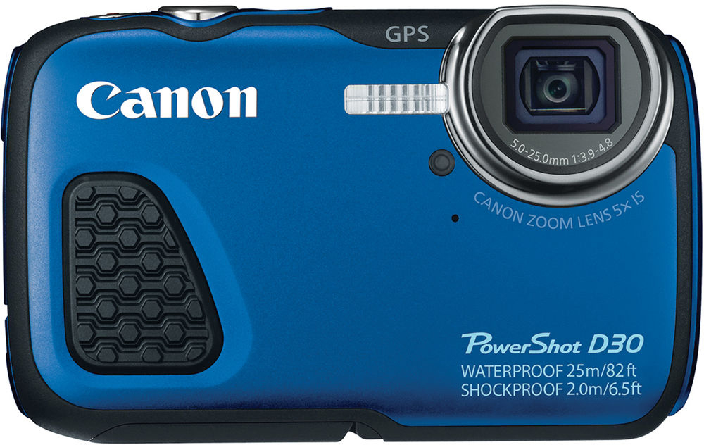 Canon Shot D30 Waterproof Digital Camera