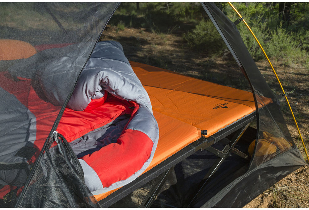 C& cots are a comfortable way to get you up off the ground for a good nightu0027s rest. & Comfort Under the Stars: A Guide to Sleeping Comfortably in Camp ...
