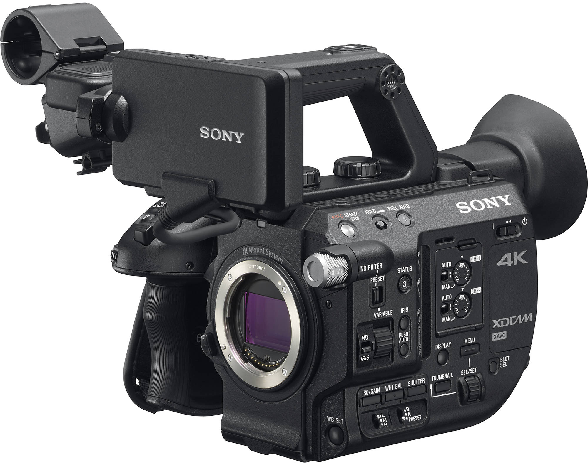 sony announces a new 4k high frame rate camera for broadcast and a pxw fs5 firmware update