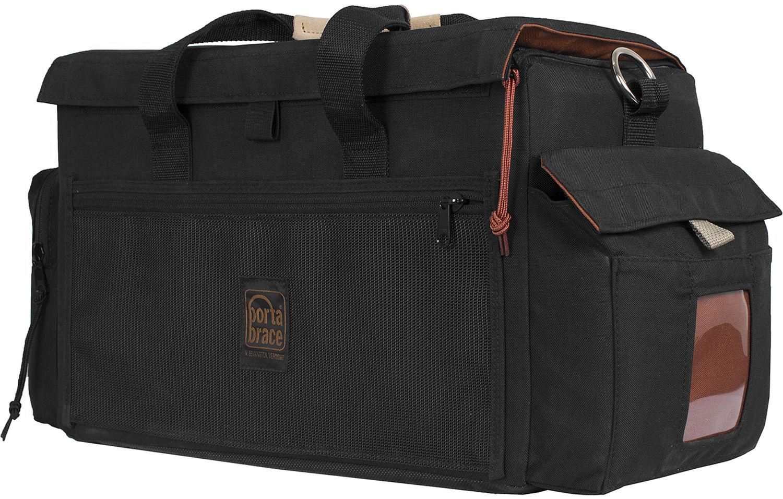 Orange interior Basics Medium DSLR Gadget Bag 4 Packs
