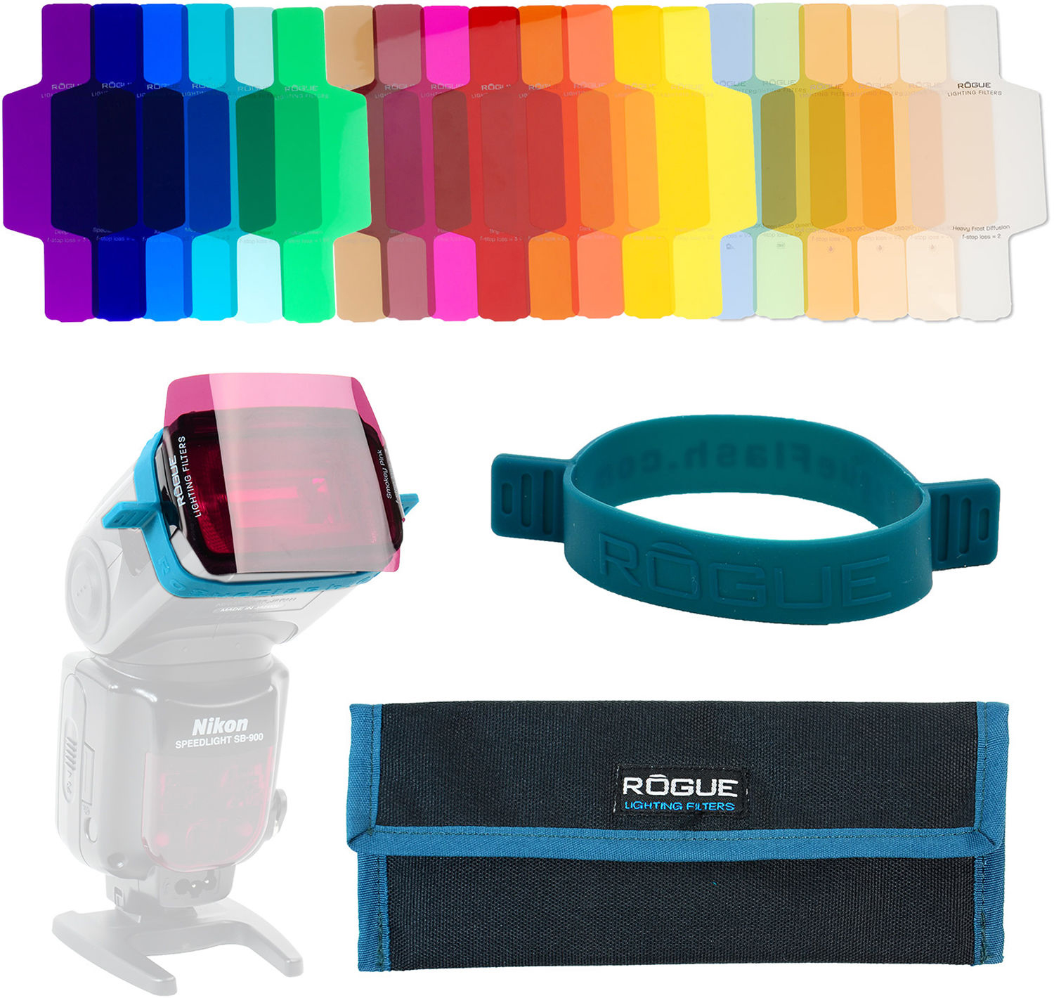 7826333507d These filters and gels can be affixed to your flash in a large variety of  ways
