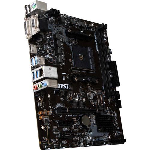 MSI B450M PRO-M2 AM4 Micro-ATX Motherboard