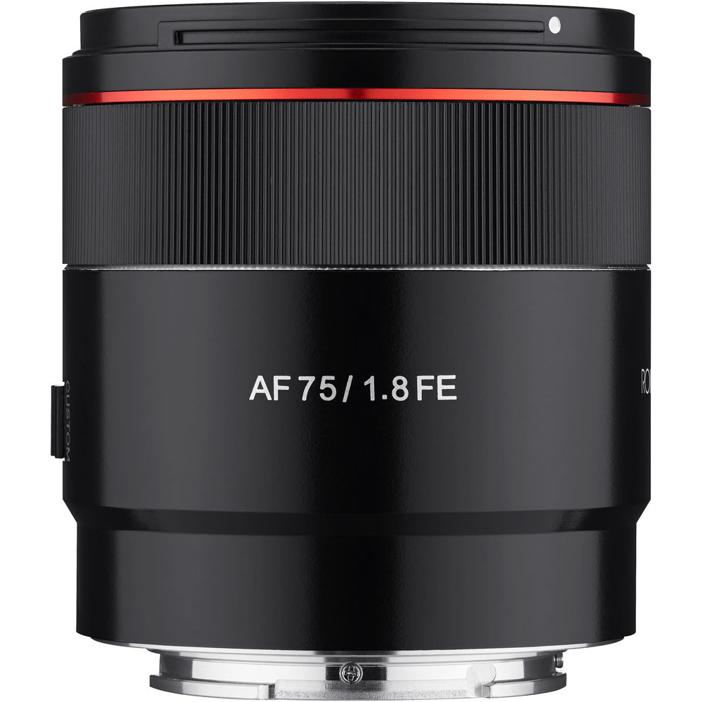 Rokinon AF 75mm f/1.8 FE Lens for Sony E