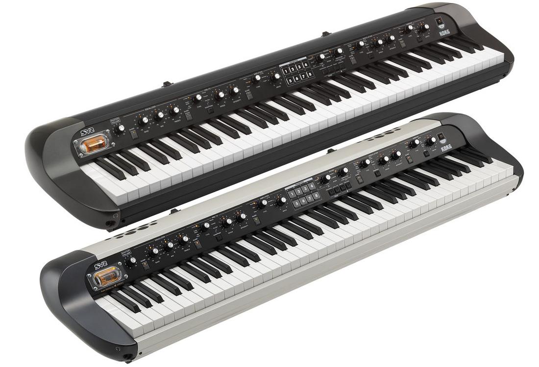 Korg SV-2 73-Key Vintage Stage Piano and Korg SV-2S 73-Key Vintage Stage Piano with Speaker System