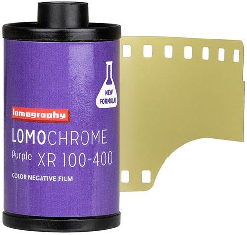 Lomography LomoChrome Purple XR 100-400 Color Negative Film
