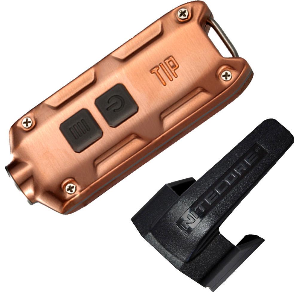 Nitecore TIP Rechargeable Metal Keyring Flashlight