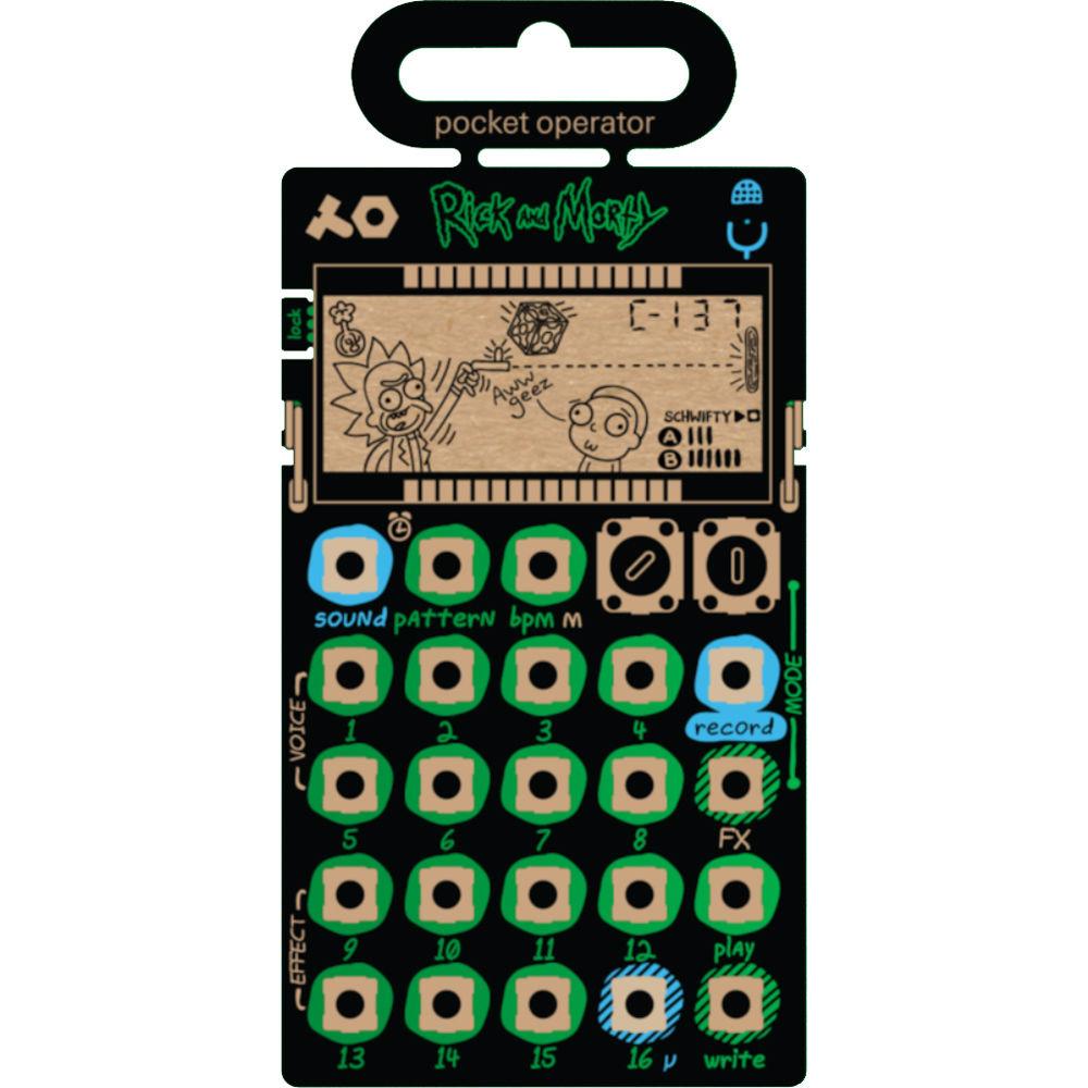 teenage engineering PO-137 Rick and Morty Pocket Operator Micro Sampler