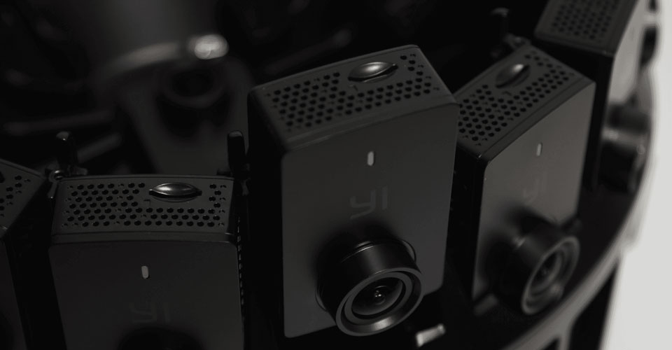 Capture 8K 360 Video with the Yi Technology HALO | B&H Explora
