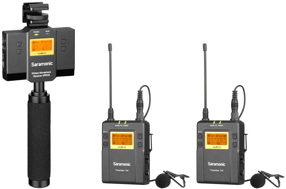 Saramonic SP-RX9+TX9+TX9