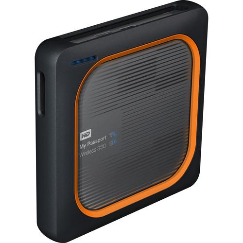 WD My Passport SSD External Wireless Hard Drive