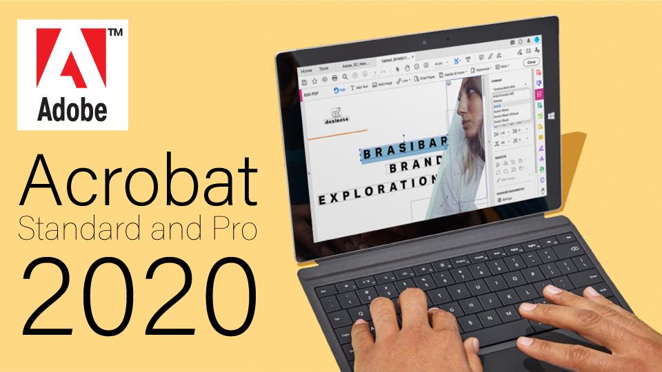 Adobe Announces Acrobat Standard and Pro 2020
