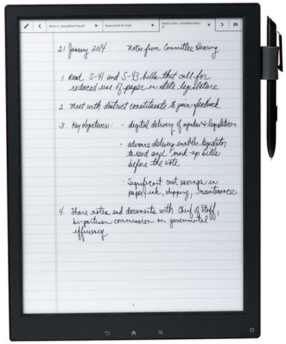 sony digital paper. add to that a microsd card slot, wi-fi connectivity, and an included stylus pen, now you have my attention. factor in the fact tablet is made sony digital paper n