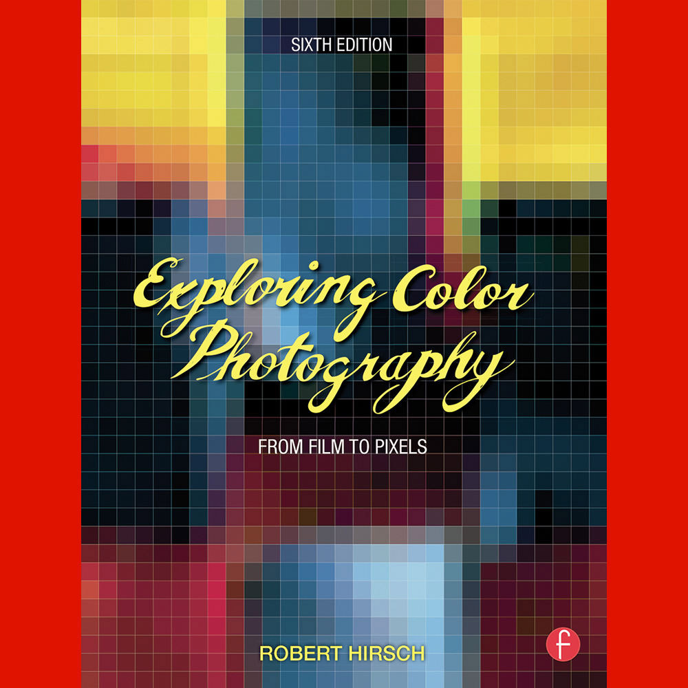 Focal press book exploring color photography from film to pixels