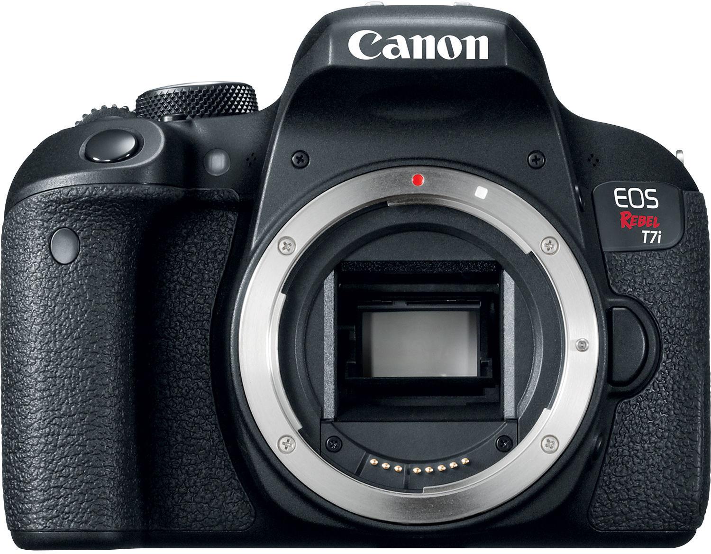 Câmera DSLR Canon EOS Rebel T7i